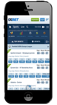 1xBet Mobile Application for iOS – 1xbet com