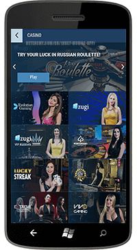 1xBet mobile version of the site – 1xbet com